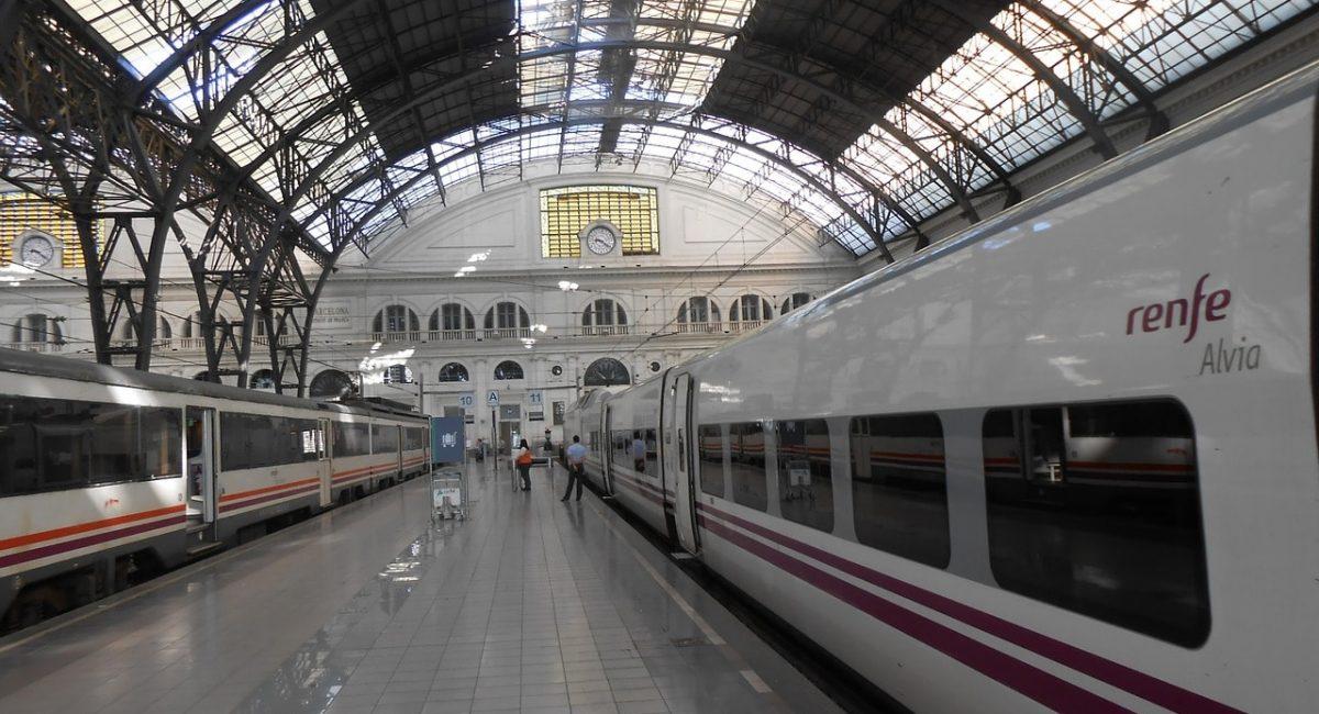 Treinreis naar Barcelona