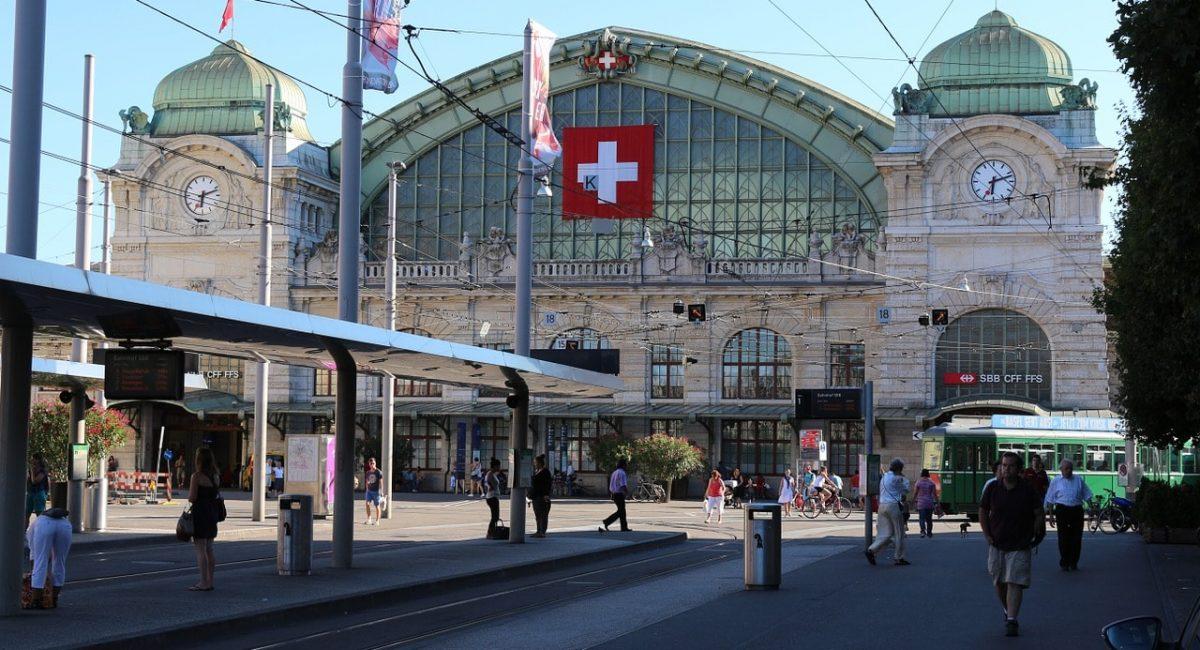 Treinreis naar Basel