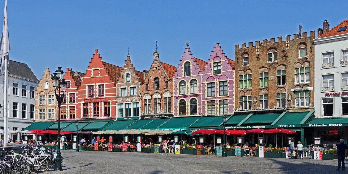 Treinreis naar Brugge
