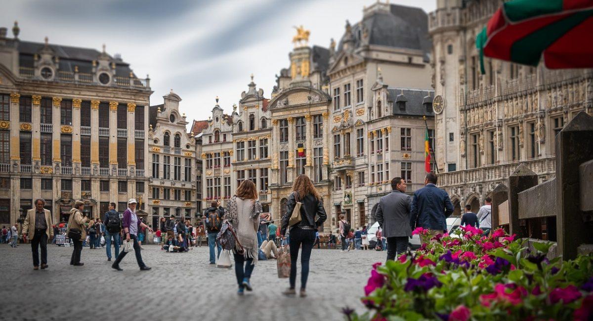 Treinreis naar Brussel