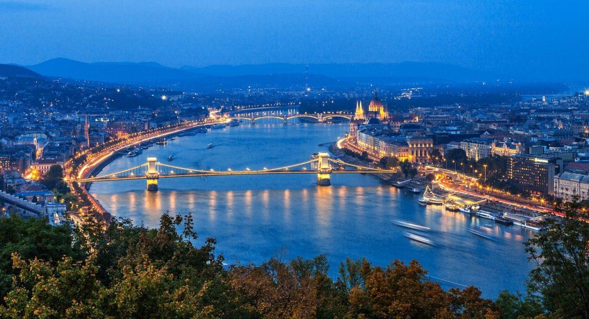 Treinreis naar Boedapest