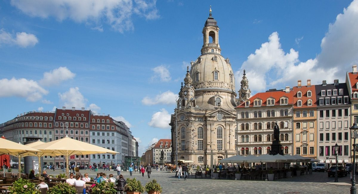 Treinreis naar Dresden