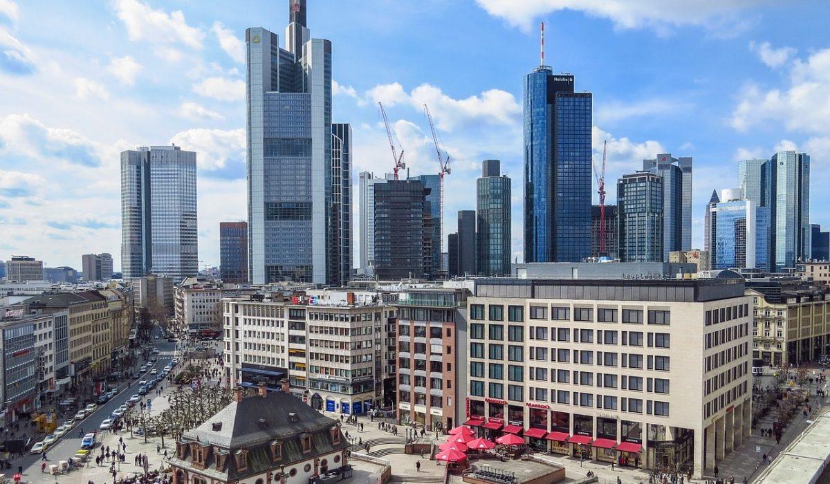 Treinreis naar Frankfurt