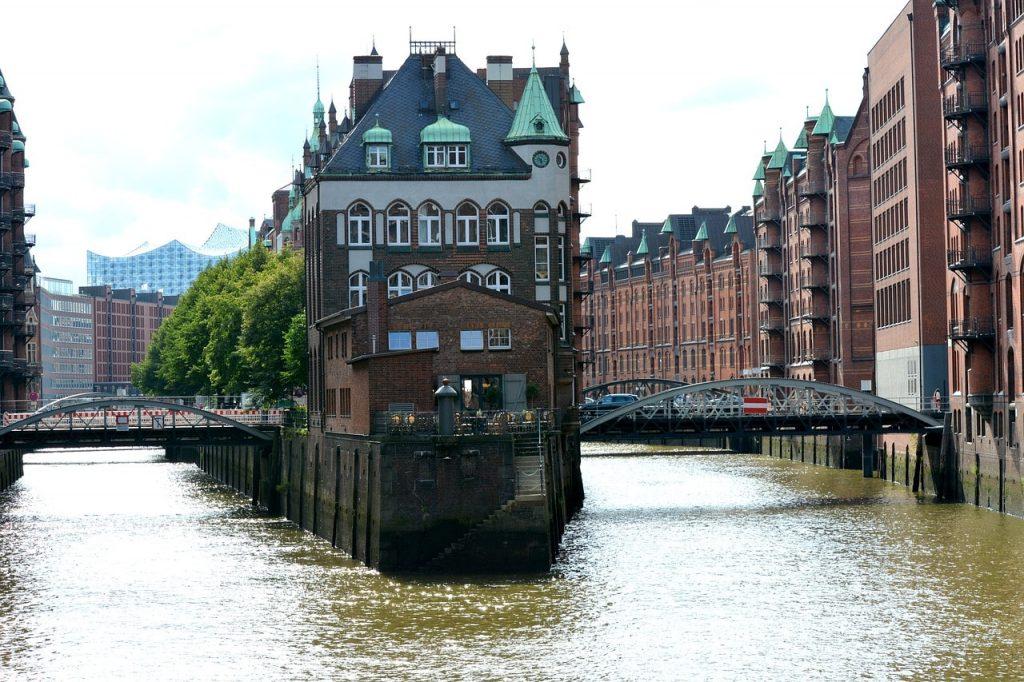 stadsgezicht Hamburg