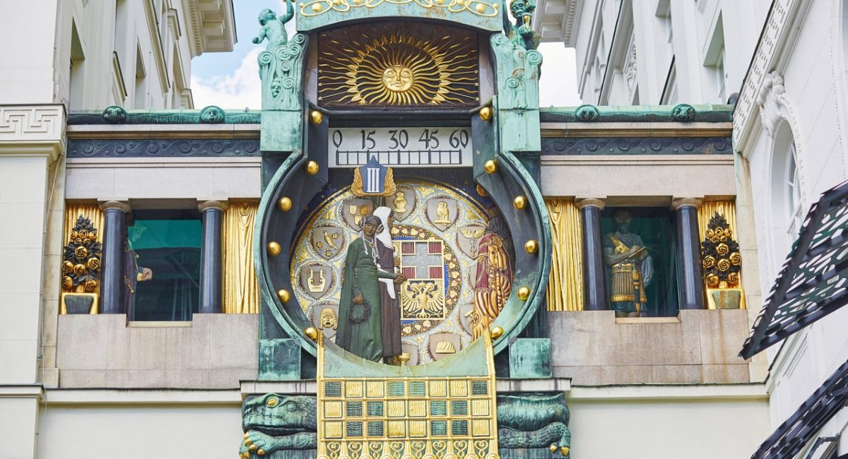 Astronomical Clock in Vienna-min