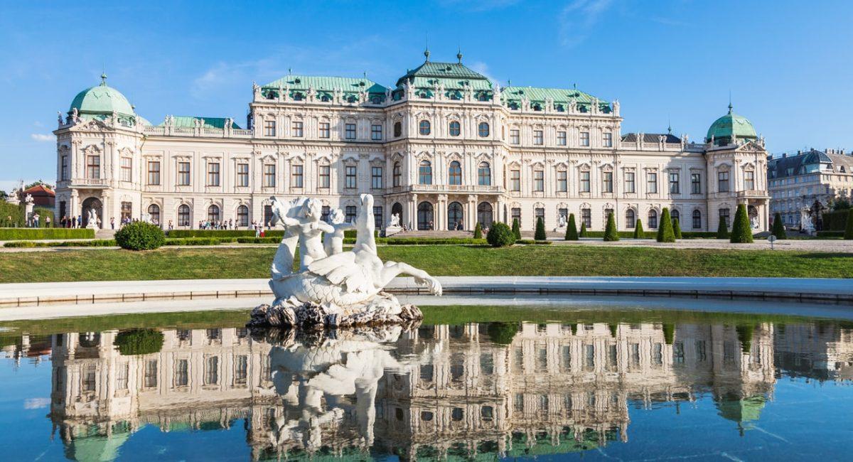Belvedere Palace in Vienna-min
