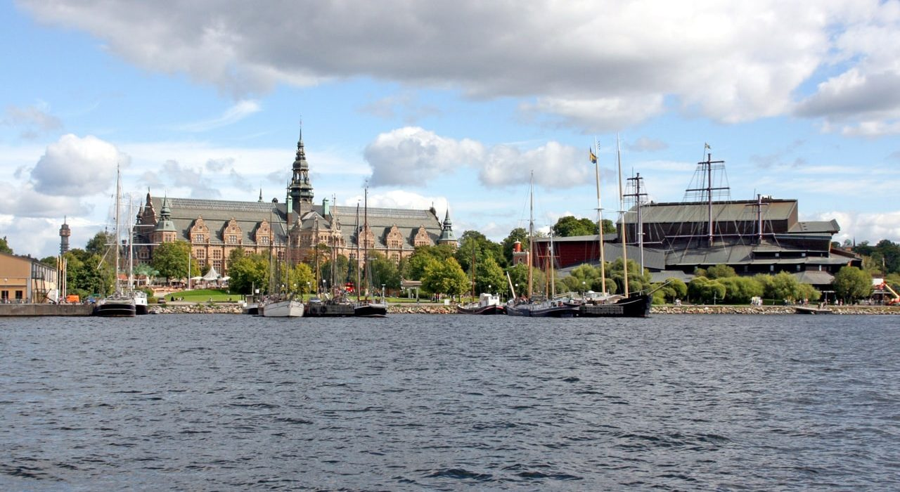 Vasa museum in Stockholm, Sweden.-min