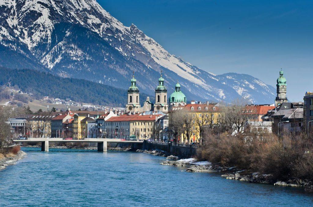 Innsbruck met de trein